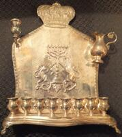 Polish menorah