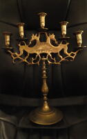 Five-Armed Sabbath Lamp
