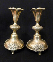 A Pair of Candle Holders