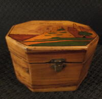 Wood Etrog Box