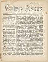 The college argus (February 4, 1869)