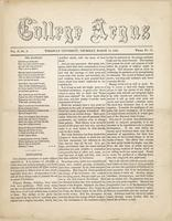The college argus (March 18, 1869)