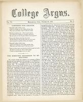 The college argus (October 23, 1872)