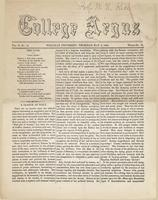 The college argus (May 6, 1869)