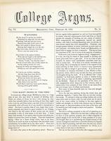 The college argus (February 26, 1873)