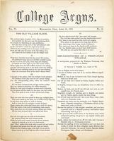 The college argus (April 30, 1873)