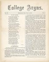 The college argus (May 28, 1873)