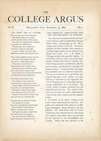 The college argus (September 29, 1869)