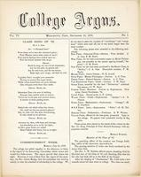 The college argus (September 26, 1872)