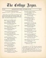 The college argus (October 29, 1878)