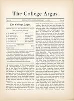 The college argus (February 11, 1881)