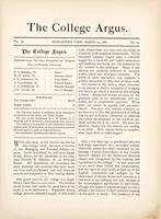 The college argus (March 25, 1881)