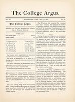 The college argus (May 12, 1882)