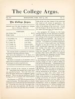 The college argus (May 23, 1882)
