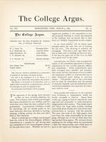 The college argus (March 9, 1883)