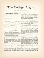 The college argus (March 23, 1883)