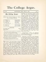 The college argus (April 24, 1883)