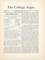 The college argus (May 15, 1883)