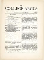 The college argus (May 4, 1870)