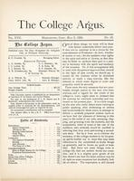 The college argus (May 2, 1884)