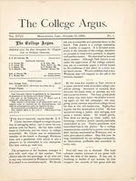 The college argus (October 10, 1884)