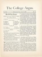 The college argus (April 2, 1887)