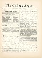 The college argus (March, 15 1880)