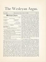 The Wesleyan argus (April 2, 1892)