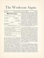The Wesleyan argus (June 17, 1892)