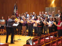 DFSSM choir and faculty at HUC--JIR in NY
