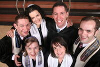 Graduating Cantorial Students at Investiture Ceremony, Debbie Friedman School of Sacred Music Students of HUC-JIR, Spring 2011