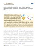 Characterizing the Promiscuity of LigAB, a Lignin Catabolite Degrading Extradiol Dioxygenase from Sphingomonas paucimobilis SYK-6