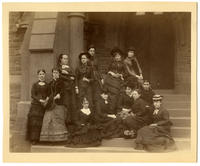 02.002.002 Unidentified group photo of Wesleyan women