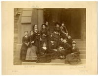 02.002.003 Unidentified group photo of Wesleyan women