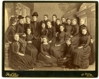 02.003.002 Unidentified group photo of Wesleyan women