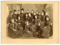 02.003.001 Unidentified group photo of Wesleyan women