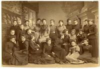02.003.005 Unidentified group photo of Wesleyan women