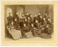 02.003.07 Unidentified group photo of Wesleyan women