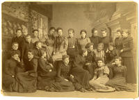 02.003.004 Unidentified group photo of Wesleyan women