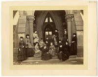 02.002.004 Unidentified group photo of Wesleyan women