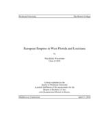 European Empires in West Florida and Louisiana