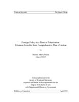 Foreign Policy in a Time of Polarization: Evidence from the Joint Comprehensive Plan of Action