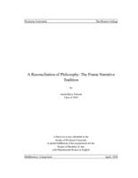 A Reconciliation of Philosophy: The Frame Narrative Tradition