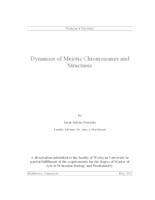 Dynamics of Meiotic Chromosomes and Structures