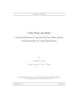 """The War on Men"": Gendered Reactions to Anti-Male Sexism Claims and the Moderating Role of Group Identification"