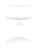 Elucidation of Interactions between Integration Host Factor and Holliday Junctions