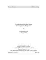Post-Industrial Welfare States in Comparative Perspective