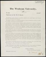 Box 001, Folder 013: Annual report of Wesleyan University, 1870-1871