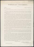 Box 001, Folder 016: Annual report of Wesleyan University, 1873-1874
