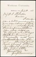 Joseph Cummings papers, Box 1, Folder 020: Correspondence, 1873-1876 and transcripts, p.2